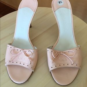 Authentic Chanel Pink Sandal